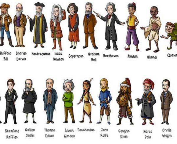 Historical figures on twitter