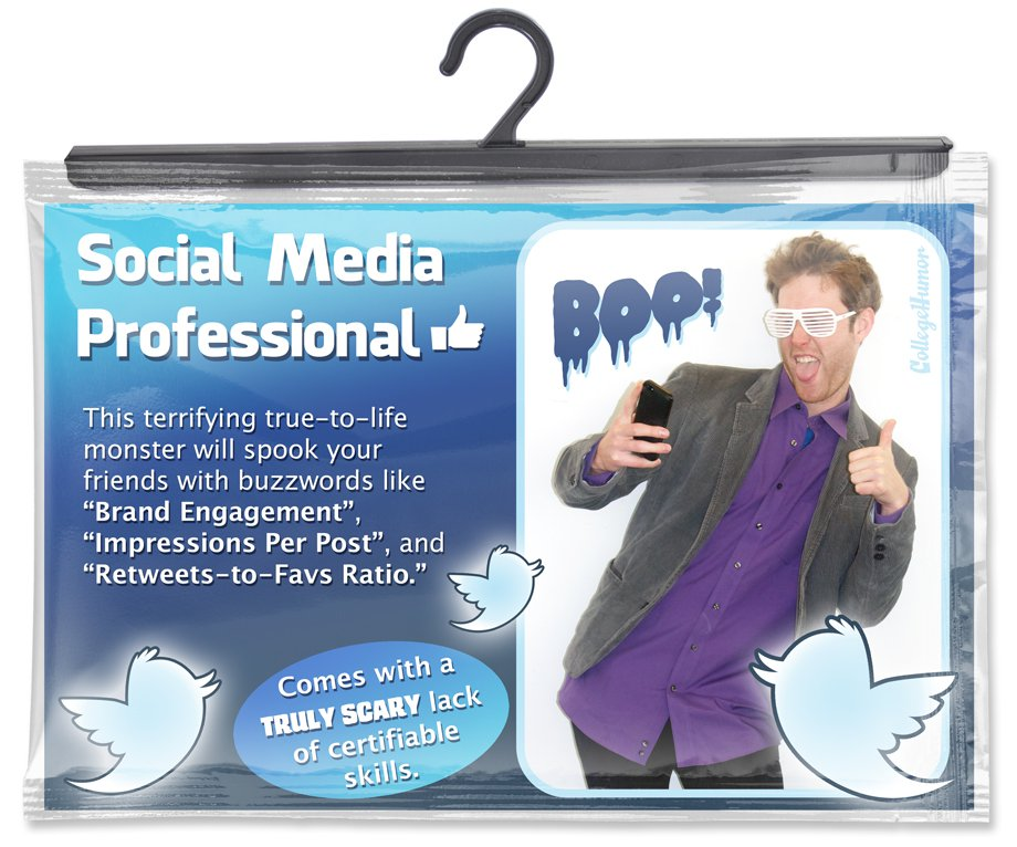 Social Media Guru Costume
