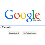 Google search web design toronto