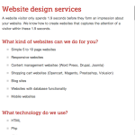 Website Design Landing Page Example