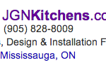 Google Ad for Kitchen Reno Oakville