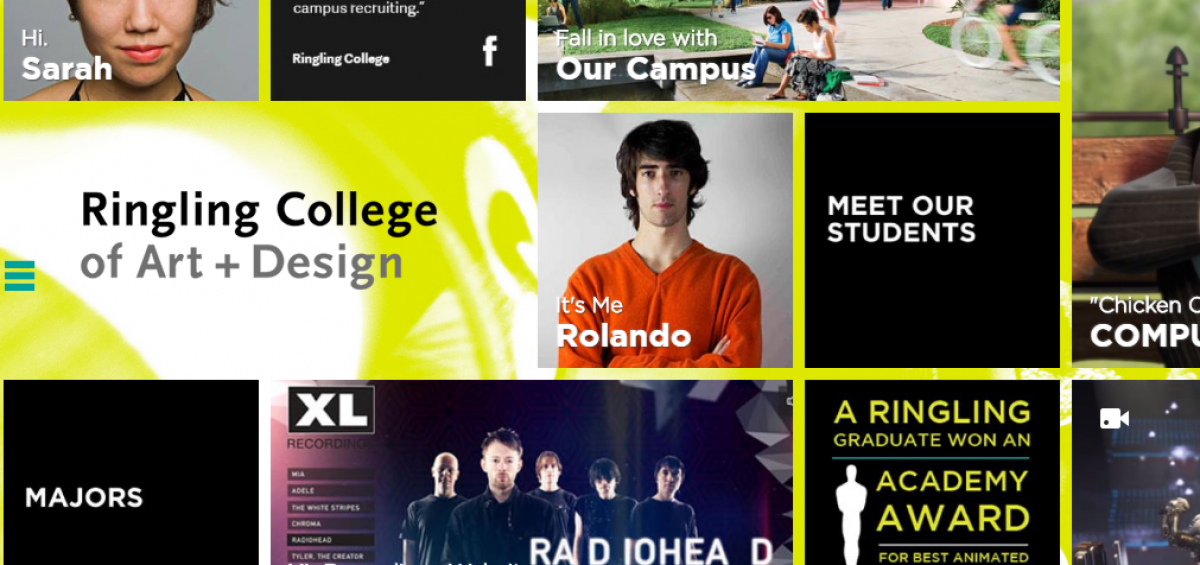 ringling college web design project