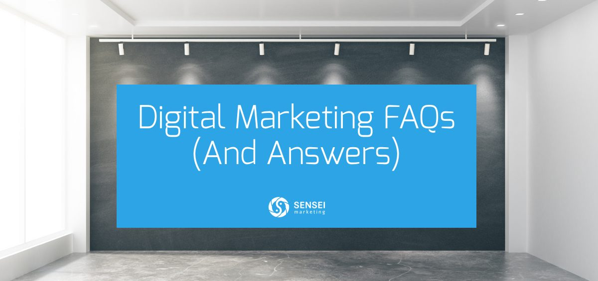 digital marketing faqs