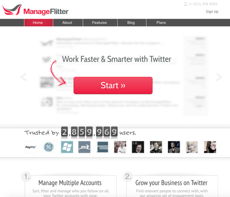 manageflitter-google-adwords-landing-page-example