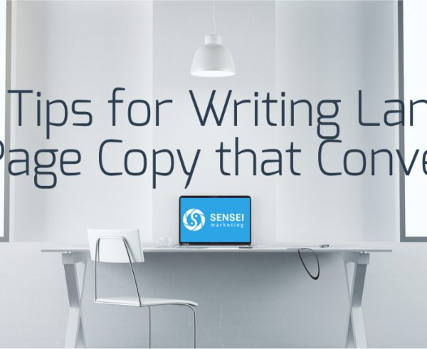 5 Tips for Writing Landing Page Copy that Converts