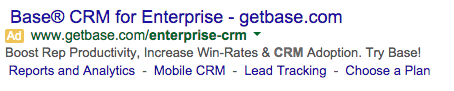 email platform google ad example