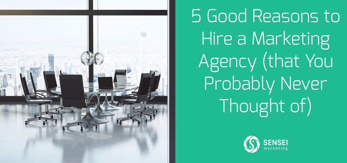 reasons to hire marketing agency