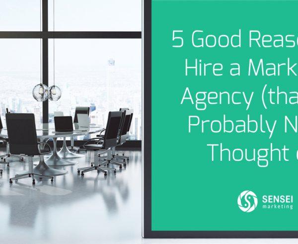 reasons to hire marketing agency
