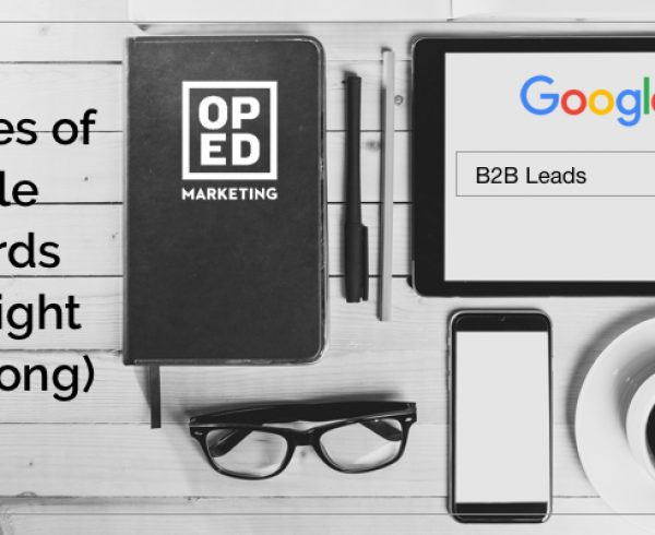 Examples Google AdWords for B2B Leads