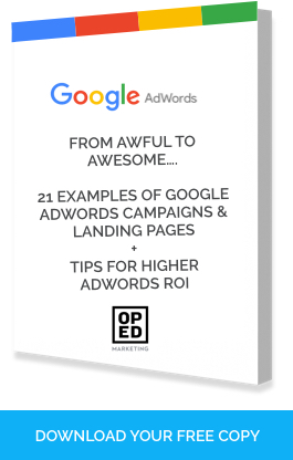Free Google AdWords Examples Ebook