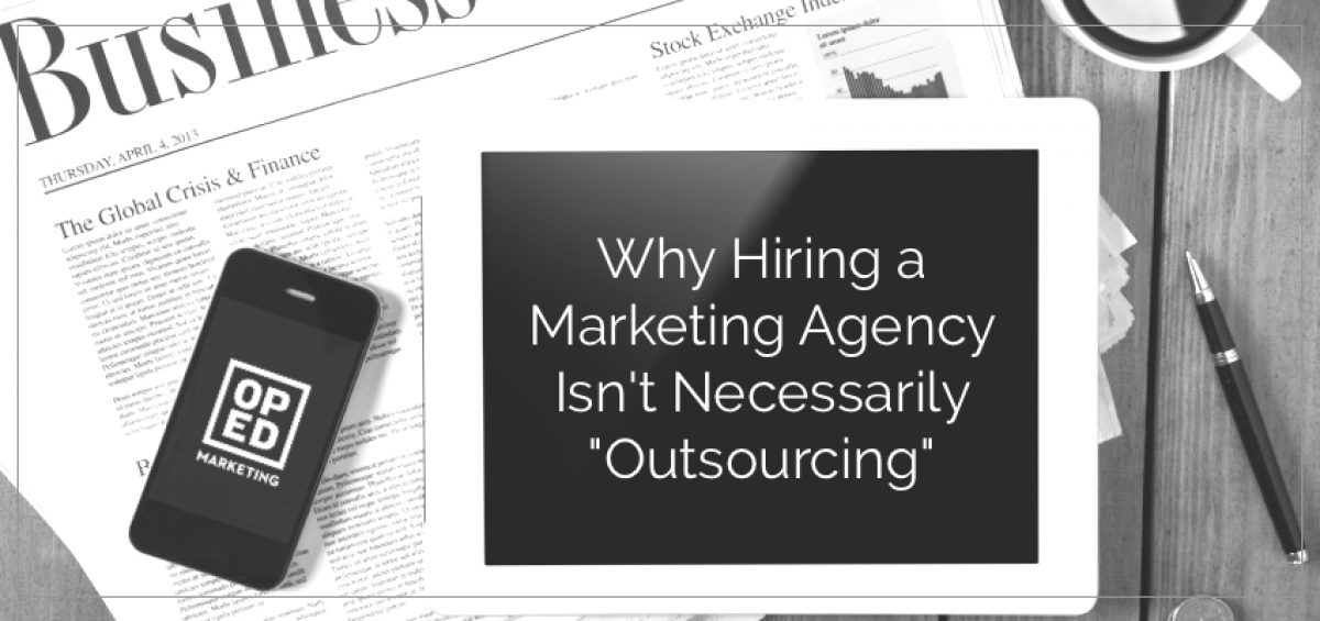 Hiring a Marketing Agency
