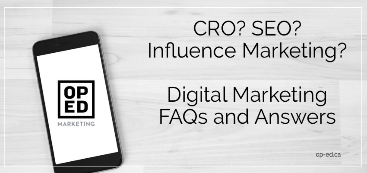 2016 digital marketing faqs