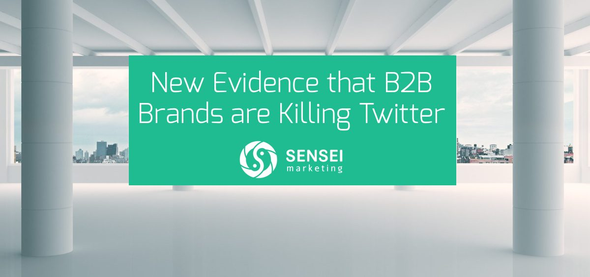 b2b brands are killing twitter