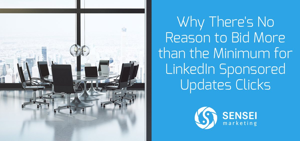 linkedin sponsored updates tips