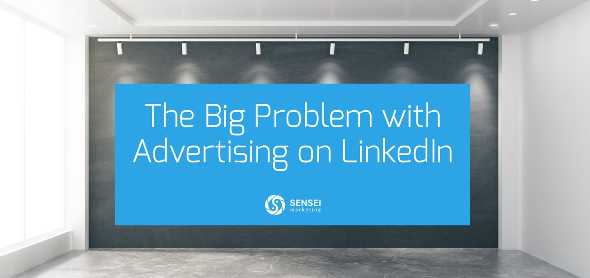 problem with linkedin advertising