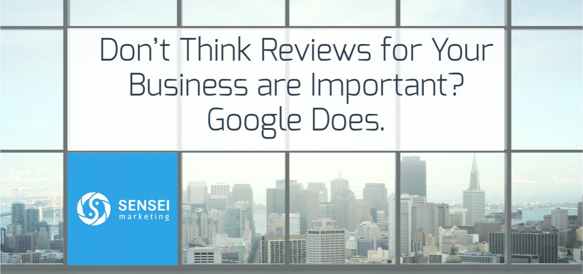 Importance of Business Reviews to Google