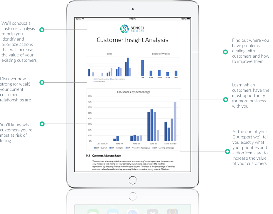 customer analysis tool