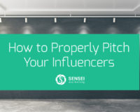 how to pitch your influencers