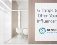 ideas to offer your influencers