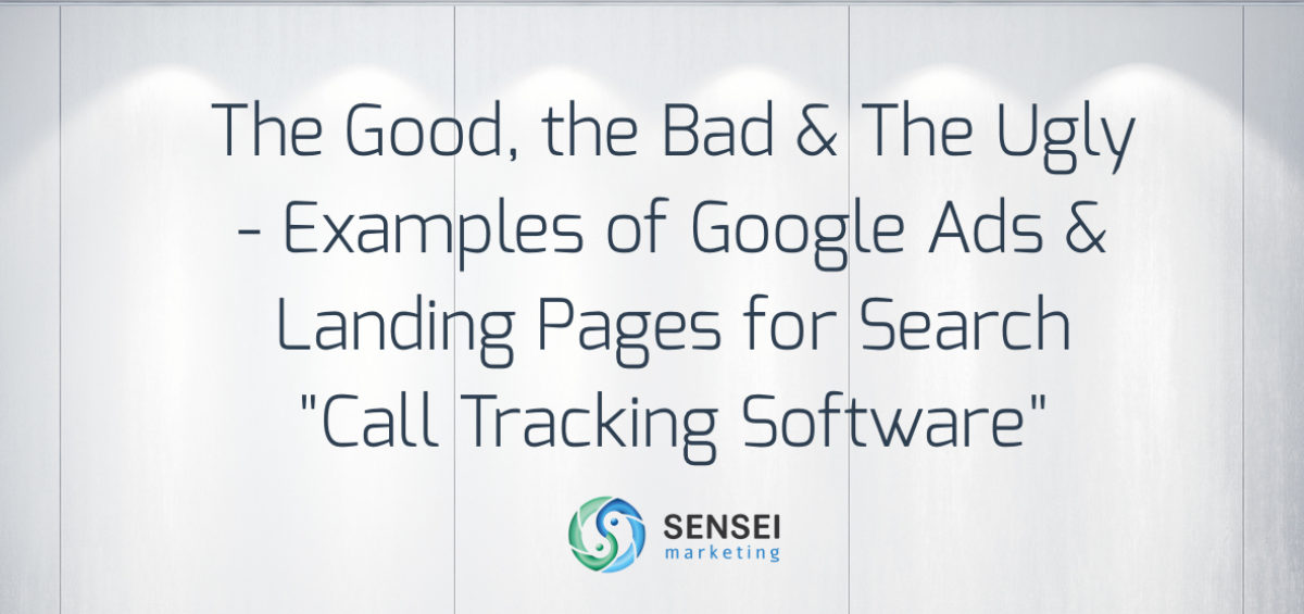 call tracking software google adwords examples