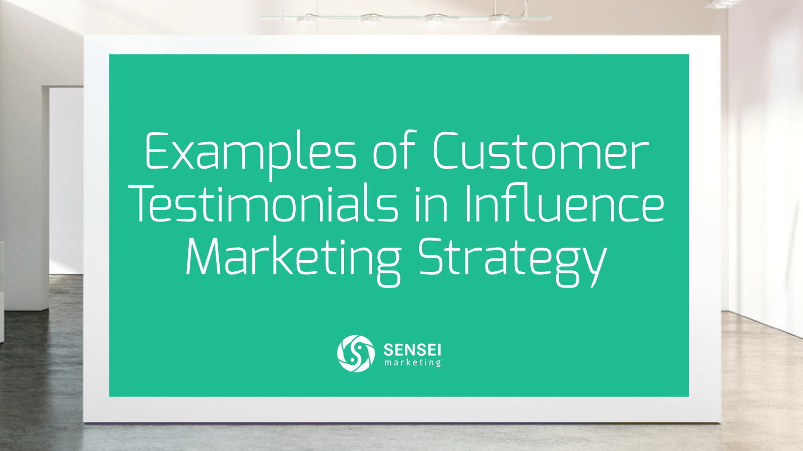 examples of customer testimonials in influence marketing strategy