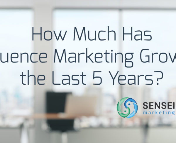 how influence marketing has changed