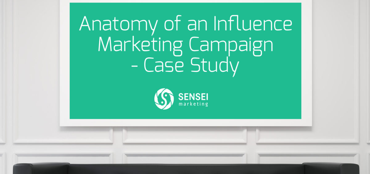influence marketing case study