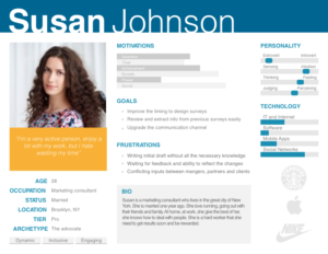 example of user persona