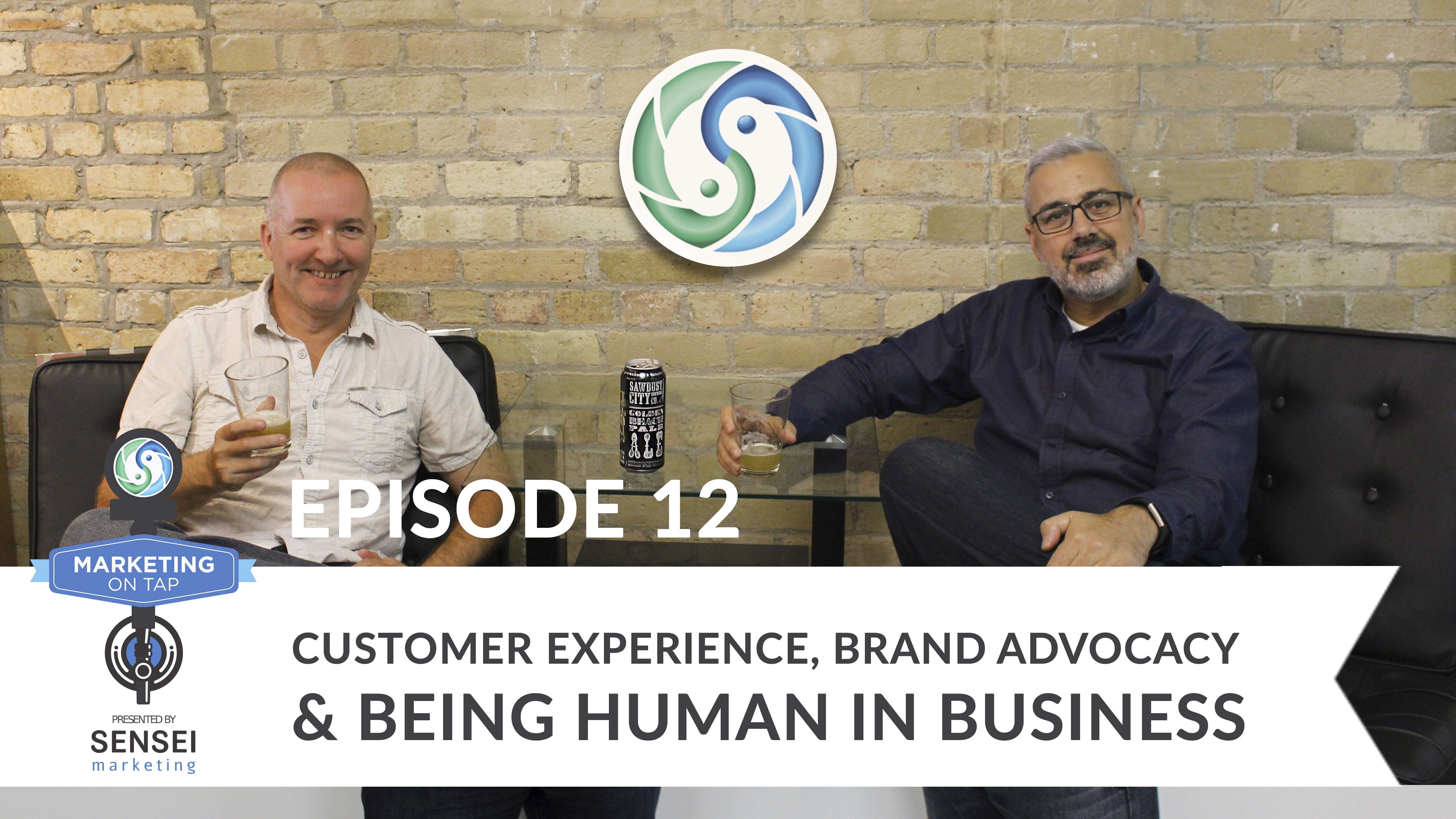 Customer experience Marketing on Tap podcast