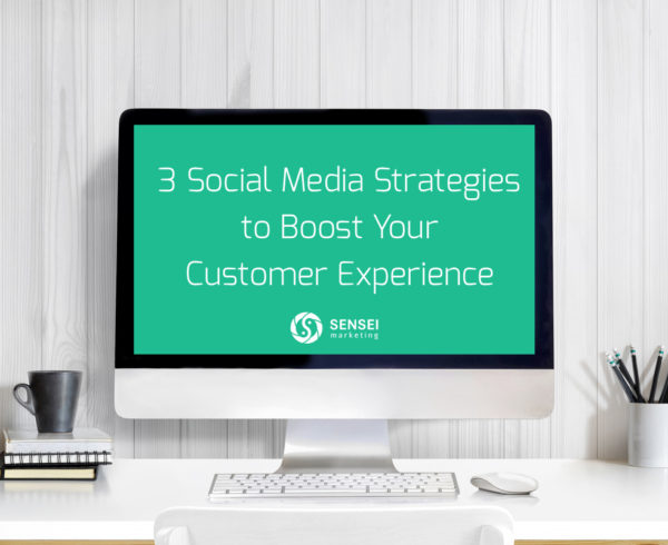 social media strategies to boost cx