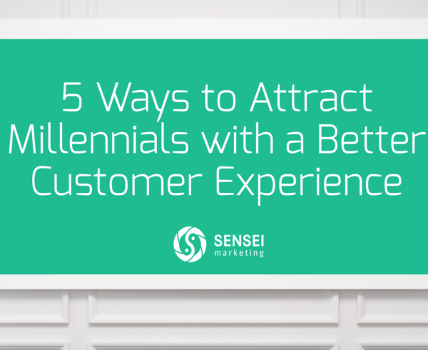 attract millennials with customer experience
