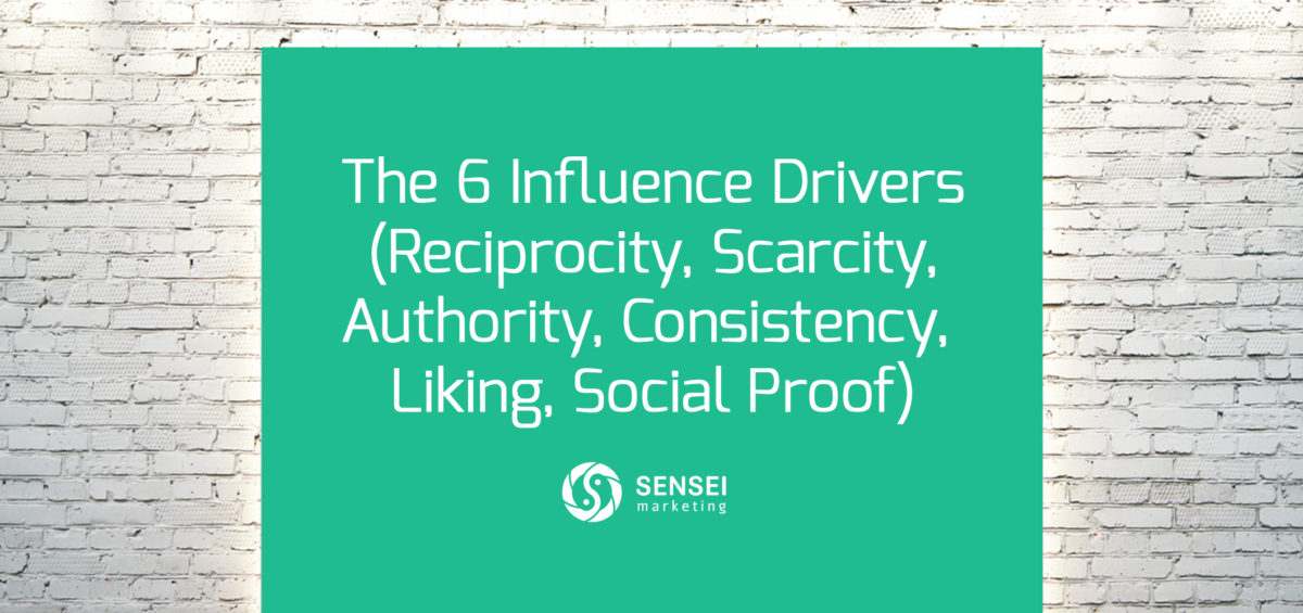 6 drivers of influence marketing