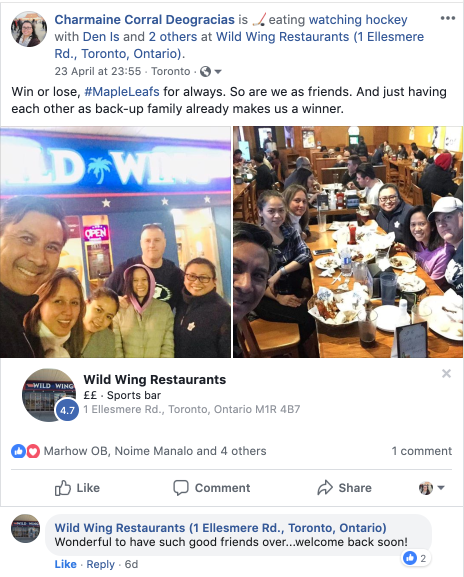 Wild Wings and customer loyalty