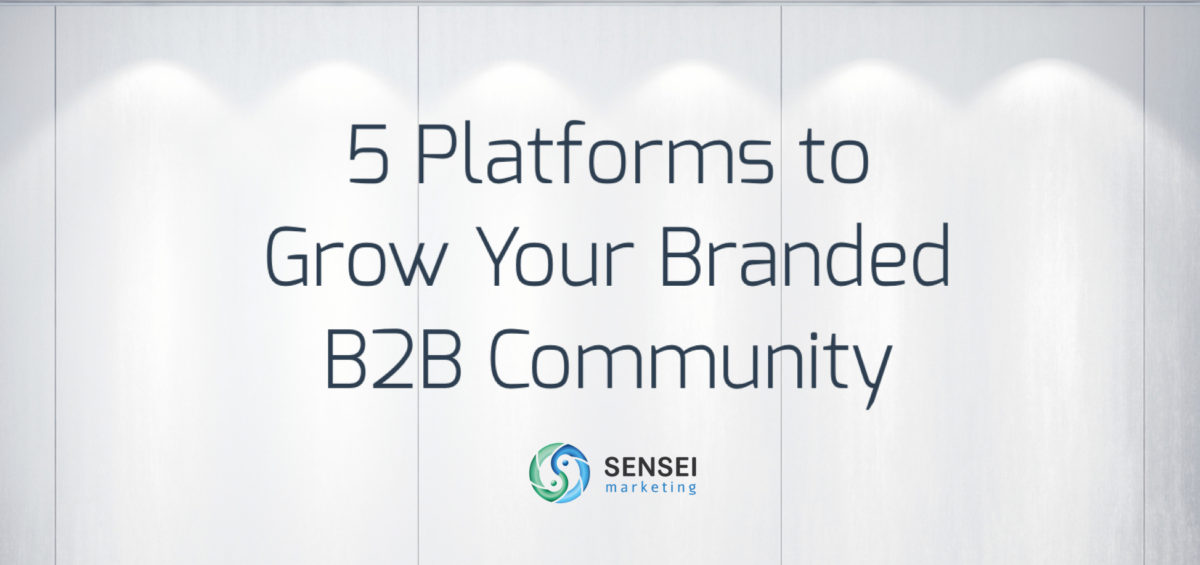 5 platforms for b2b communities