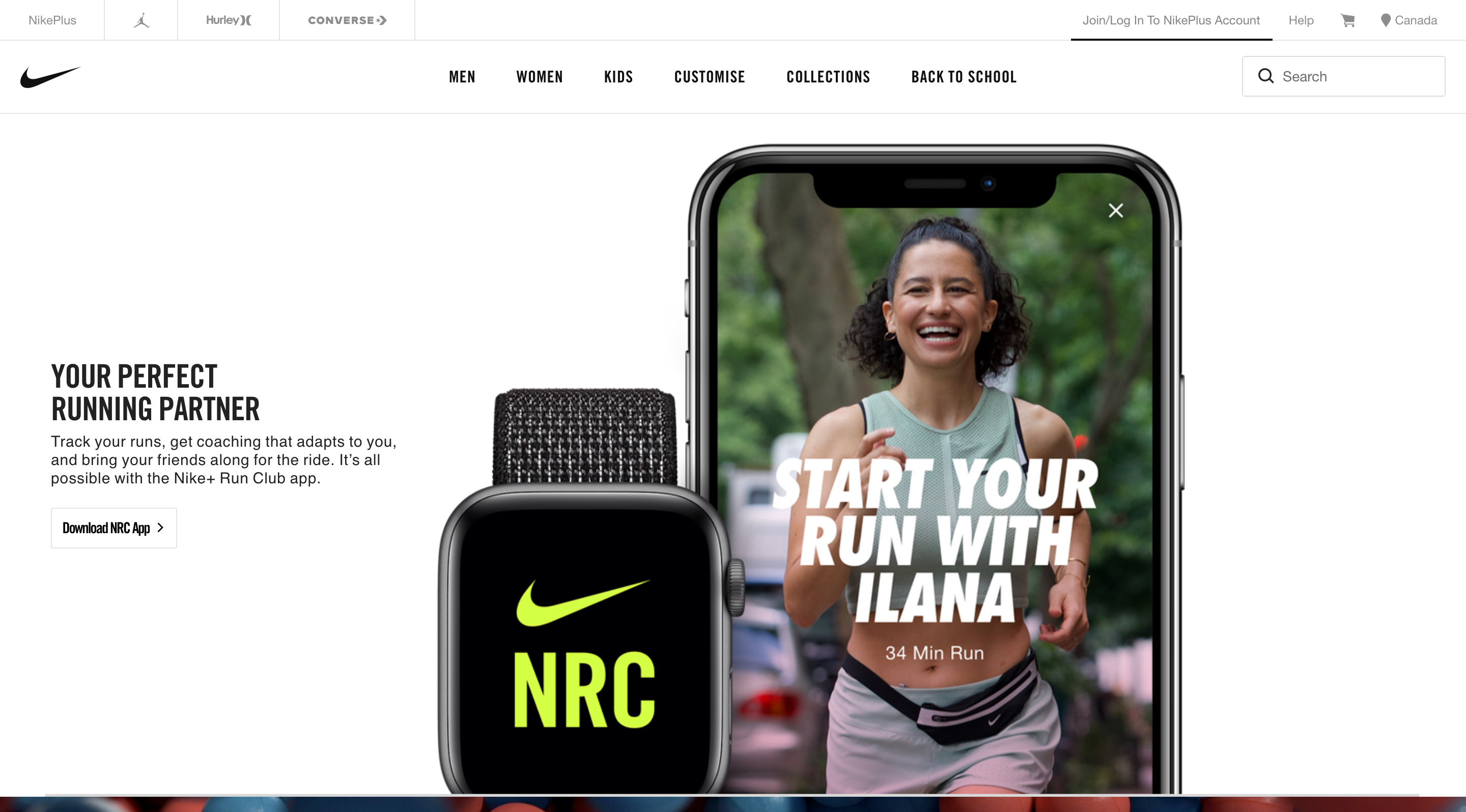 Nike Run Club for iPhone and Android