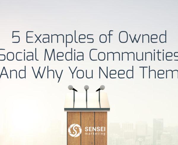 owned social media communities