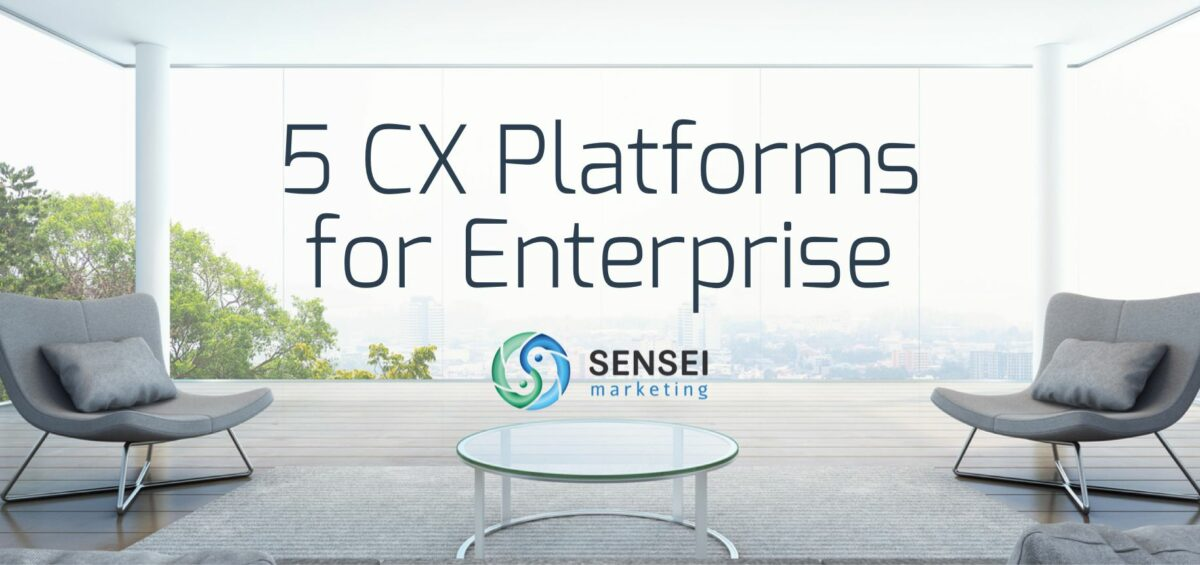 5 enterprise cx platforms