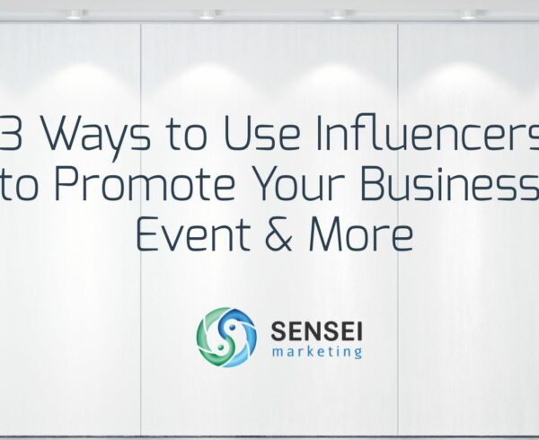 ways to use influencers to promote events