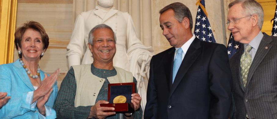 Social business advocate Professor Muhammed Yunus